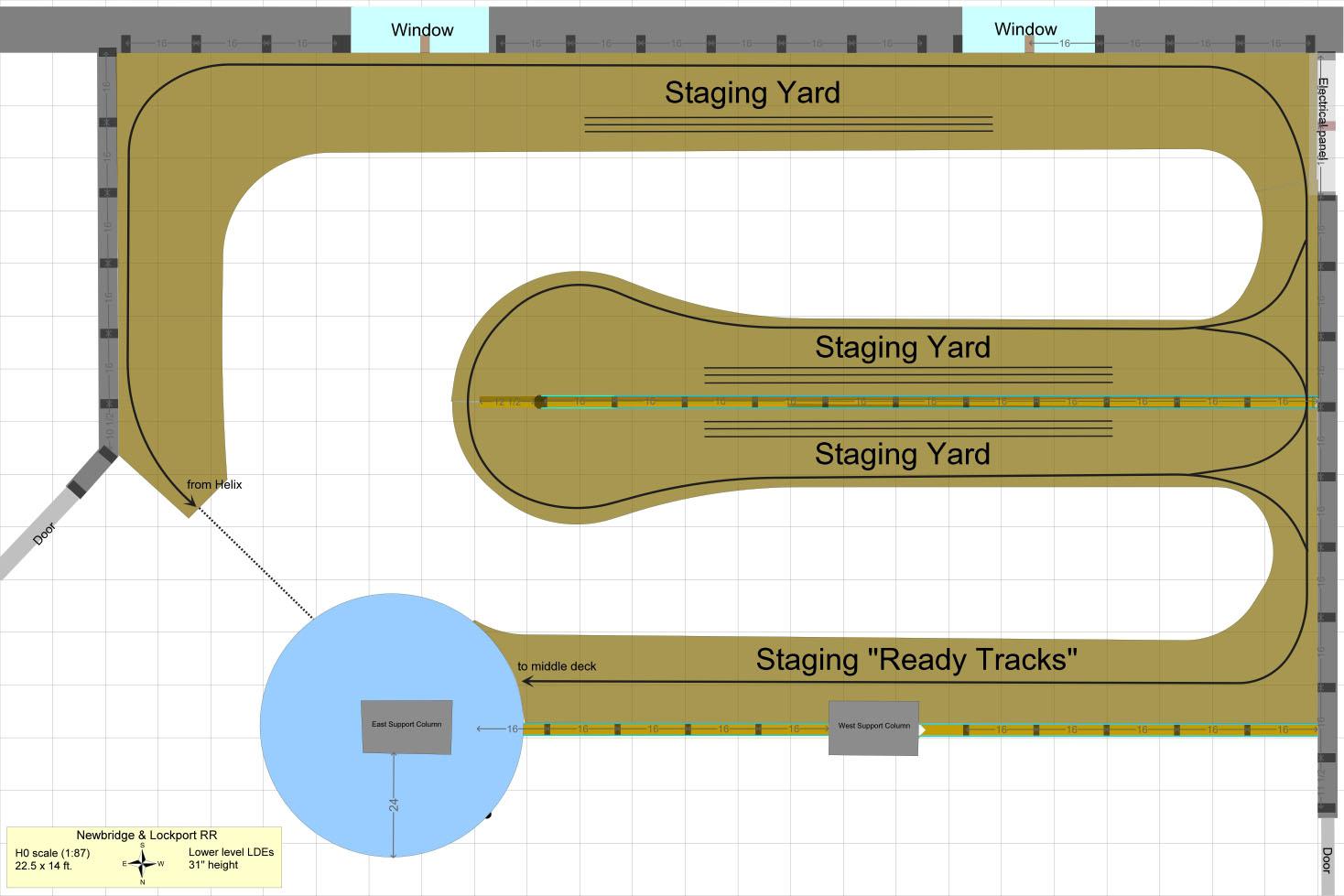 Question about staging track arrangement   Model Railroad